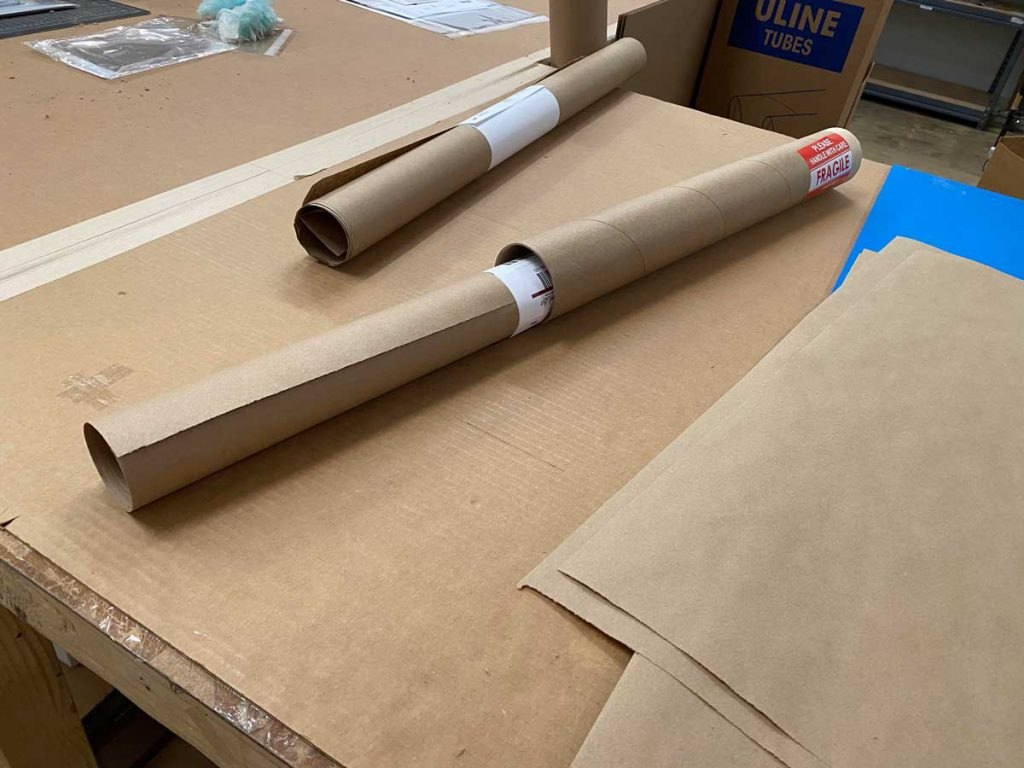 Shipping Tube for Prints